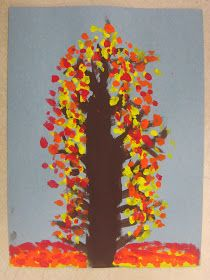 Miss Young's Art Room: 1st Grade Impressionism Fall Trees