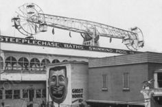 Coney Island Steeplechase Ghost House 4x6 Reprint Of Old Photo