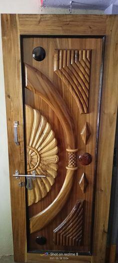 Wooden Main Door Design, Wood Design, Door Design Images, Wooden Sofa Designs, Door Design Interior, Single Doors, Wooden Doors, Wood Furniture, Door Handles
