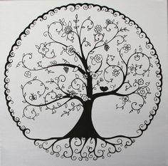 Cool tattoos, tree of life tattoos, miami ink tattoos, new tattoos, tattoo Tattoo Life, Simbolos Tattoo, Roots Tattoo, Tattoo Forearm, Mandalas Painting, Mandalas Drawing, Miami Ink Tattoos, Olive Tree Tattoos, Simple Tree Tattoo