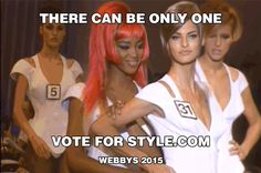Vote Now! Help Style.com Win a Webby