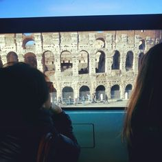 Il Colosseo dal tram #ridieassapori #igersroma