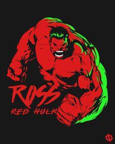 #Red #Hulk #Fan #Art. (ROSS) By: Swaglord191. ÅWESOMENESS!!!™ ÅÅÅ+