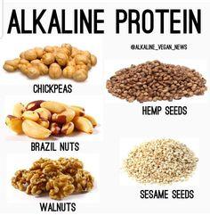 Alkaline protein beans and seeds #Alkaline #Beans #protein #seeds Alkaline Diet Alkaline Diet Plan, Alkaline Diet Recipes, Raw Food Recipes, Healthy Recipes, Alkaline Foods Dr Sebi, Alkaline Fruits, Healthy Habits, Healthy Snacks, Healthy Eating