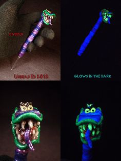 Beetlejuice Sandworm Dabber by Undead Ed Glows in the by Zoombiez