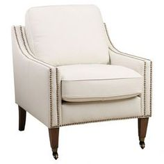 Macie Arm Chair in Ivory