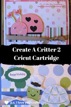 The Create A Critter 2 Cricut Cartridge has fun animals for celebrating every holiday. There is a Koala for Valentine's Day and a Christmas Monkey.