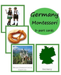 Montessori Advices, tips, basics, printables Montessori Homeschool, Montessori Elementary, Montessori Activities, Elementary Education, Homeschooling, Picture Cards, 10 Picture, Peace Education, Germany Castles