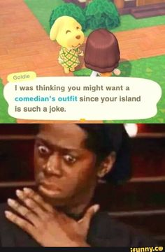 Animal Crossing Funny, Animal Crossing Villagers, Animal Crossing Qr Codes Clothes, Stupid Funny Memes, Funny Relatable Memes, Haha Funny, Lol, Hilarious, Really Funny