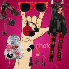 rock and roll fashion | love rock a roll (275480) - julia morais - Fashion.me