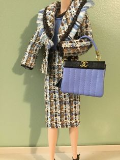 *LA BOUTIQUE* Chanel Ensemble FOR BARBIE FR POPPY Silkstone DOLLS Clothing Acc #ClothingAccessories