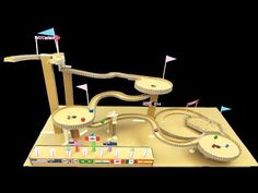 "Paul's marble machine ""Etagen"" (floors) - YouTube"