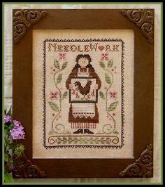 Little House Needleworks - My Needle's Work - Cross Stitch Pattern