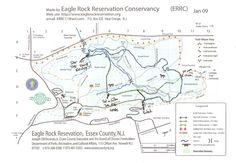 Eagle Rock Trail Map
