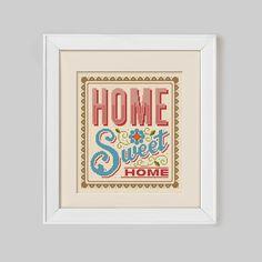 Hoi! Ik heb een geweldige listing gevonden op Etsy https://www.etsy.com/nl/listing/174020057/home-sweet-home-cross-stitch-pattern