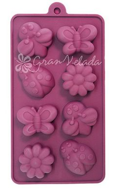 Tipos de moldes de cera resina de silicona Jabón de Manos Molde Yeso Arcilla Fondant pastel para armar uno mismo