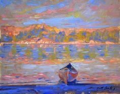 Garth Armstrong - Wolf Lake Kawartha Highlands 8 x 10 (3)