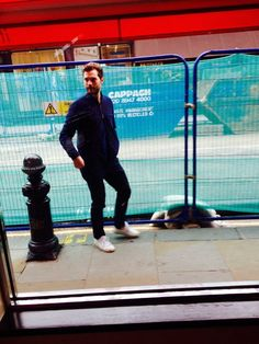 Jamie Dornan :: new old photo from March 2015, London