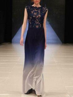 Choies Limited Edition Azure Sea Maxi Dress | Choies
