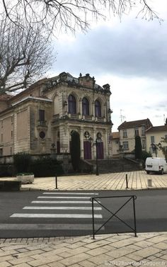 Not everyone who goes to Provence stops to visit Orange, France. I'm not sure why because it's not that far from Avignon and Châteauneuf-du-Pape Orange France, Chateauneuf Du Pape, Provence, Barefoot, Mansions, House Styles, Manor Houses, Villas, Mansion