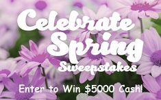 This year, celebrate spring season with JTV and grab a chance to win a $5000 cash prize.  #Sweepstakes #Dailyentry #Wincash