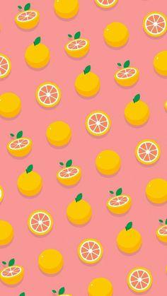 ideas fruit pattern illustration art for 2019 Cute Food Wallpaper, Cute Patterns Wallpaper, Kawaii Wallpaper, Cute Wallpaper Backgrounds, Wallpaper Iphone Cute, Pretty Wallpapers, Funny Wallpapers, Aesthetic Iphone Wallpaper, Cartoon Wallpaper