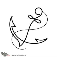 Simple anchor  In marine iconography the anchor is a symbol of stability, home, the safe harbour and the steadyness of one´s own decisions.   www.tattootribes....