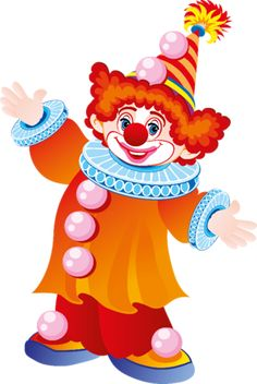 This high quality free PNG image without any background is about clown, distinctive makeup, colourful wigs, colourful clothing and clipart. Clown Crafts, Carnival Crafts, Clown Mignon, Drawing For Kids, Art For Kids, Clown Images, 1 Clipart, Clipart Images, Clown Party