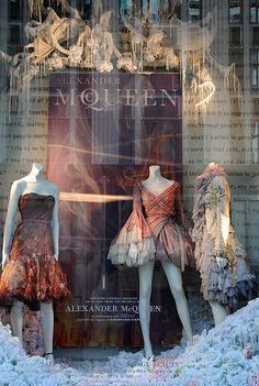 New York store window display. By Diane Worland, via Flickr