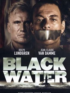 Jean-Claude Van Damme shooting a new movie called 'Black Water' with Dolph Lundgren.