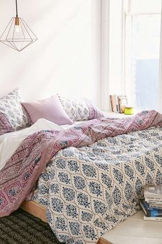 Plum & Bow Sofia Block Duvet Cover #sheets #bedlinen #homeinteriors linen, bespread, duvet cover | See more at www.plumesilk.com