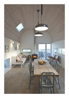 House No. 7: rustic Dining room by Denizen Works