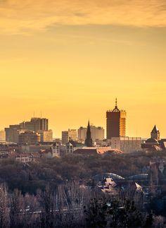 Poznan Poland, panorama centrum [fot. T. Hejna]