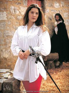 Mittelalterliche Bluse