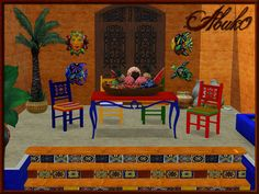 Piastrella Dining  by Abuk0  Chair+Table+Staircase+Mask  Basegame compatible  http://www.allaboutsims.net/wbb3/index.php?page=Thread&postID=72366#post72366