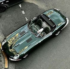 Jaguar E-Type..Re-pin...Brought to you by #CarInsurance at #HouseofInsurance in Eugene, Oregon