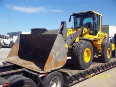 This week is coming to an end ! Enjoy this week-end with this nice wheeled loader from Volvo ! http://www.machineryzone.com/used/wheeled-loader/1/3289/volvo.html