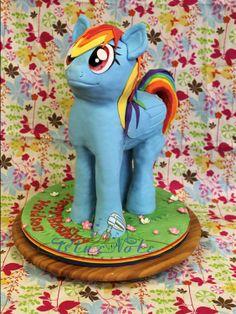 My Little Pony - Rainbow Dash | Blue Note Bakery - Austin, Texas