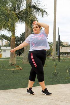 #VemProvar #ProveiEAprovei Plus Size Fitness, Plus Size Workout, Fat Girl Fashion, Looks Plus Size, Moda Online, Plus Size Outfits, Ideias Fashion, Active Wear, Cute Outfits