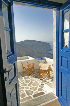 Balcony in Folegandros