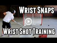 Wristshot Training: Wrist Snaps - Complete Shot 1