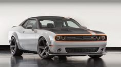 2015 Dodge Challenger Charger and Dart at SEMA Auto Show