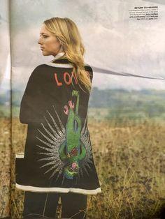 Zippora Seven in Gucci for Viva magazine