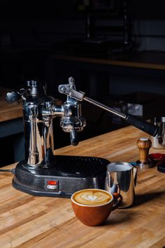 Though a modest setup, the La Pavoni Europiccola is exceptionally capable of producing high-quality espresso.