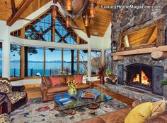 Nestled into the crystal shores of the Incline Village lakefront. Upon entry, panoramic Lake and mountain views greet you, showcasing floor to ceiling windows and an expansive deck for the ultimate sunsets. The great room features a soaring beamed ceiling and magnificent, handcrafted fireplace. Primary rooms are on the  …