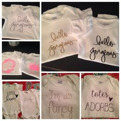 Adorable custom vinyl baby girl onesies by chloencachescloset custom vinyl baby girl onesies by chloencachescloset on etsy negle Choice Image
