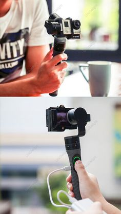Snoppa Go Handheld 3-Axis Camera Gimbal Stabilizer for GoPro Hero 3/ 3+ / 4 $289.99 BY FREE SHIPPING!