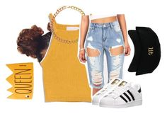 """Untitled #794"" by haideeguity ❤ liked on Polyvore featuring ASOS and adidas"