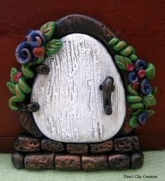 Fairy Door by: @Trina Prenzi  #polymerclay