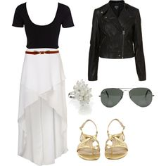 Eleanor Calder outfit by out-of-category on Polyvore featuring River Island, Topshop, Naturalizer and Ray-Ban